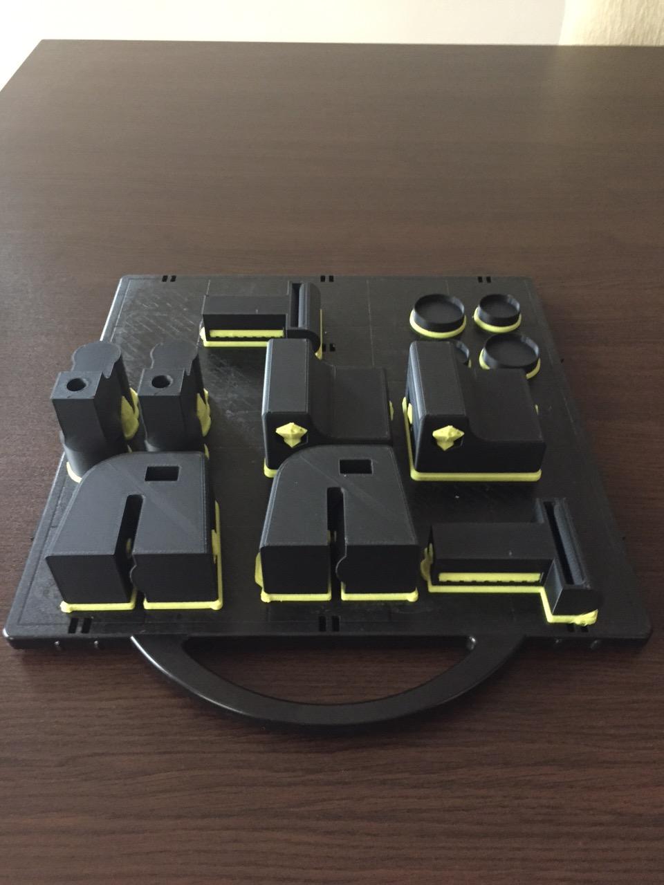 3D принтираните части в 3D Принтера
