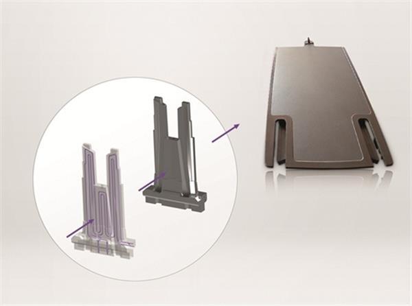 Иновативната система за охлаждане благодарение на 3D Принтирането