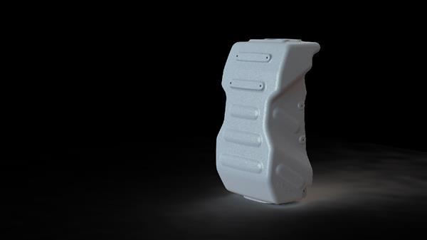 3D Принтиран детайл, част от Реактиваната Раница